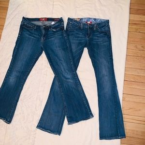 Lucky Brand Jeans -  SZ 2 and 10